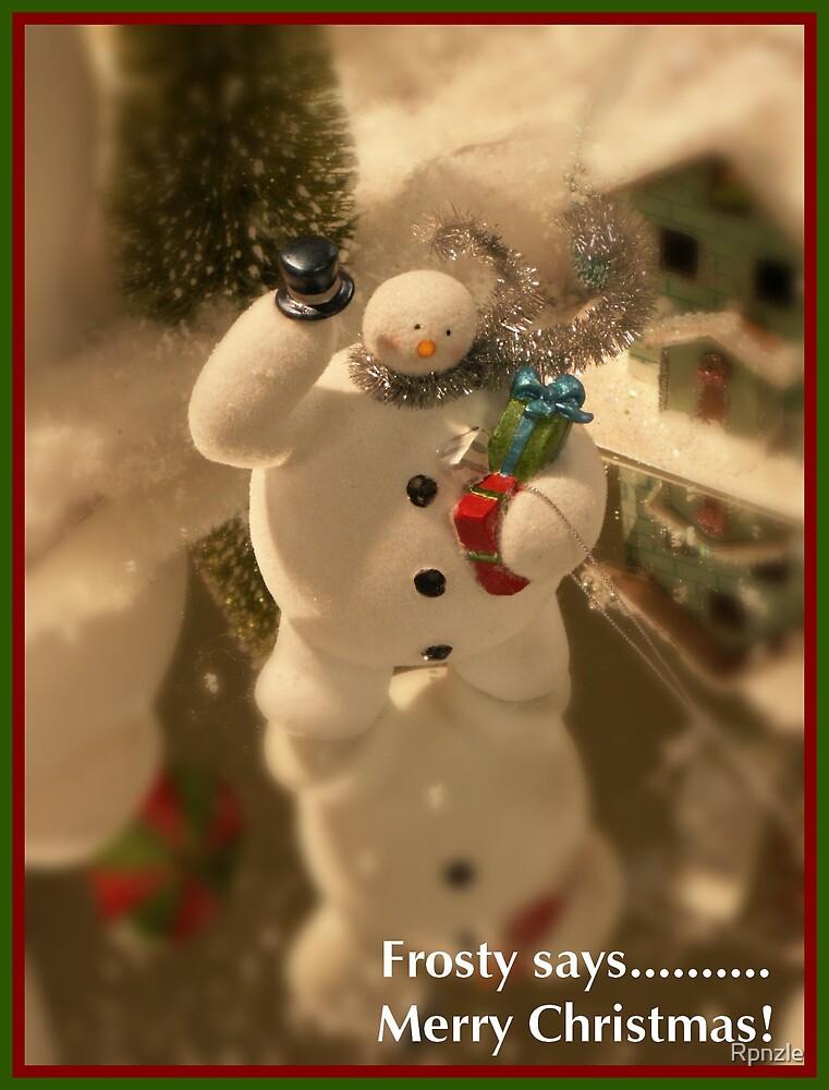 Frosty! by Rpnzle