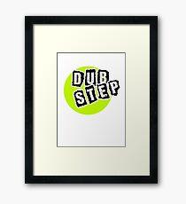 Dub Step Point Framed Print