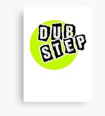 Dub Step Point Canvas Print