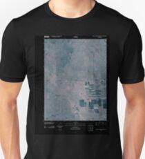 USGS TOPO Map Colorado CO Buffalo Springs Ranch NW 20100917 TM Inverted Unisex T-Shirt