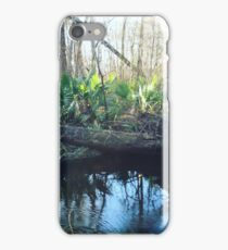 Fronds Beside a River iPhone Case/Skin