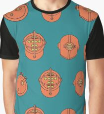 Big Daddy Repeating Pattern Graphic T-Shirt