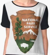 National Park Service Women's Chiffon Top