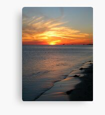 Summer Ends Canvas Print