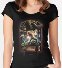 Super Mario Bros. Poster Women's Fitted Scoop T-Shirt