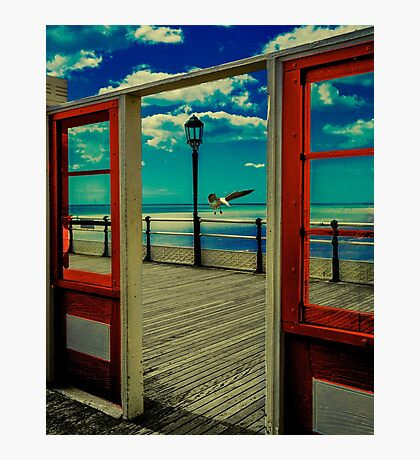 ♫♪ ♪♫ Oh, I do Like To Be Beside The Seaside ♫♪ ♪♫ Photographic Print