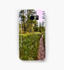 Keep yourself on track Samsung Galaxy Case/Skin
