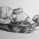 Safe in daddys arms by Penny Edwardes