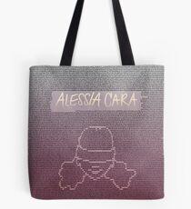 Alessia Cara Lyrics Tote Bag