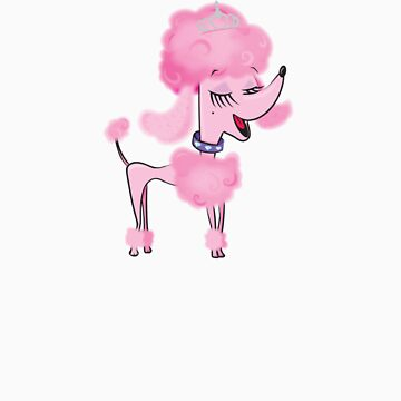 Poodle by flamingrhino