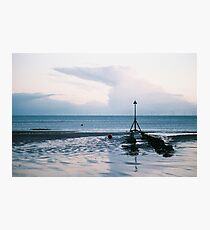 Colwyn Bay In The Winter Photographic Print