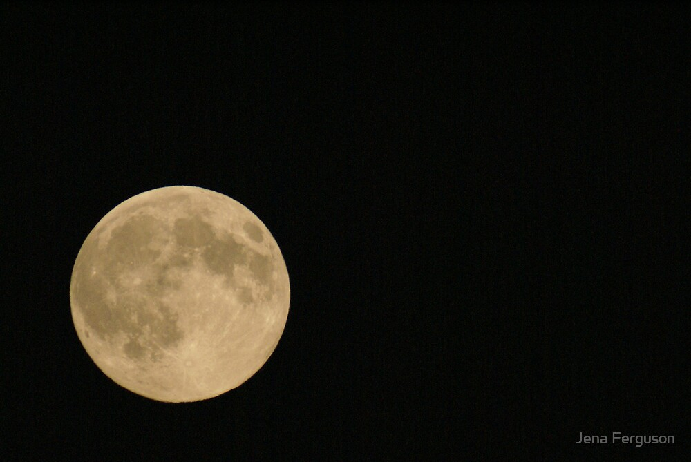 Man in the Moon by Jena Ferguson