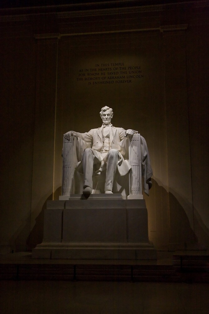 Lincoln Memorial by Night I by shadow2