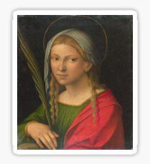 Garofalo - Saint Catherine Of Alexandria Sticker