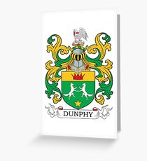 Dunphy Coat of Arms Greeting Card