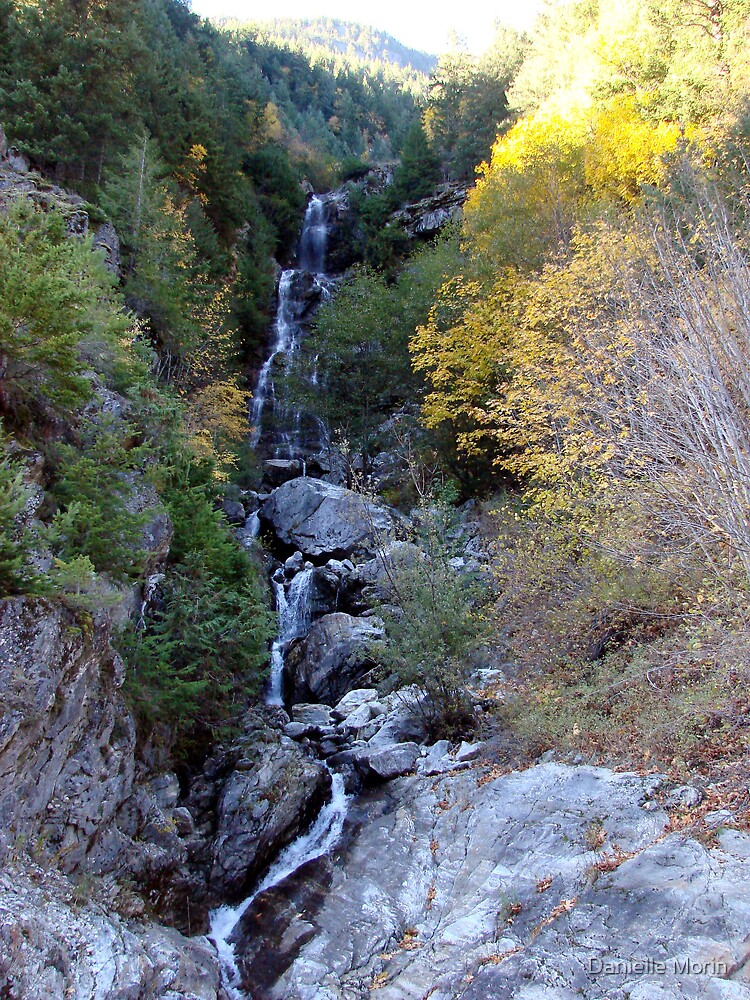 Newhalem Waterfall by Danielle Morin