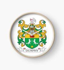 Dunphy Coat of Arms Clock