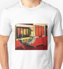 Painting Fiat 500 and Vespa Unisex T-Shirt