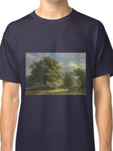 George Andries Roth - View In The Bentheim Forest Classic T-Shirt