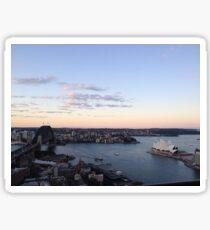 Sydney Sunset Sticker