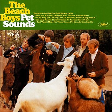 Pet Sounds Album Cover Shirt by MaxB5100