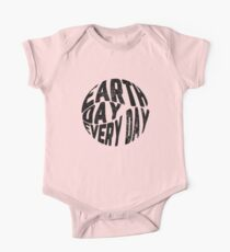 Earth Day Every Day One Piece - Short Sleeve