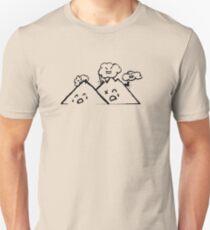 Clouds Vs. Mountains Unisex T-Shirt