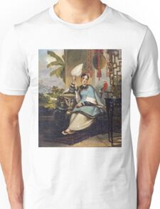 George Chinnery - Portrait Of A Girl Unisex T-Shirt