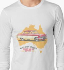 Ford Mark 2 Zephyr-Classic Australian Cars Long Sleeve T-Shirt