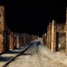 Main Street, Pompeii by Lois  Bryan