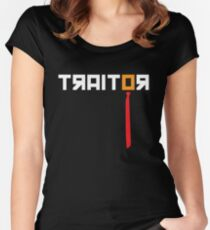 Traitor - Anti Trump Women's Fitted Scoop T-Shirt