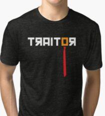 Traitor - Anti Trump Tri-blend T-Shirt