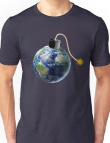 Earth Bomb with Fuse Unisex T-Shirt