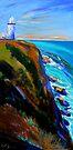 Bryron Lighthouse by Virginia McGowan