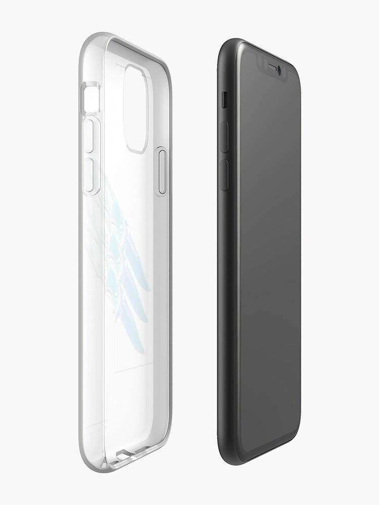 antichoc iphone 7 - Coque iPhone «Sans titre», par gYBI