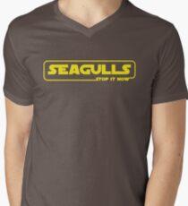 Seagulls episode 1: Stop it Now Men's V-Neck T-Shirt