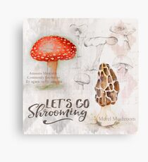 Mushroom Hunter Canvas Print