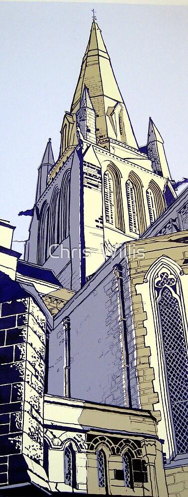 Sacred Heart Church. Bendigo by Chris  Willis