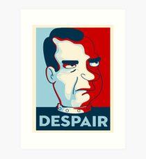 Futurama - despair Art Print