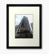 Classic Architecture, Trump Tower, 5th Avenue, New York City Framed Print