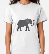 Elephant love Classic T-Shirt