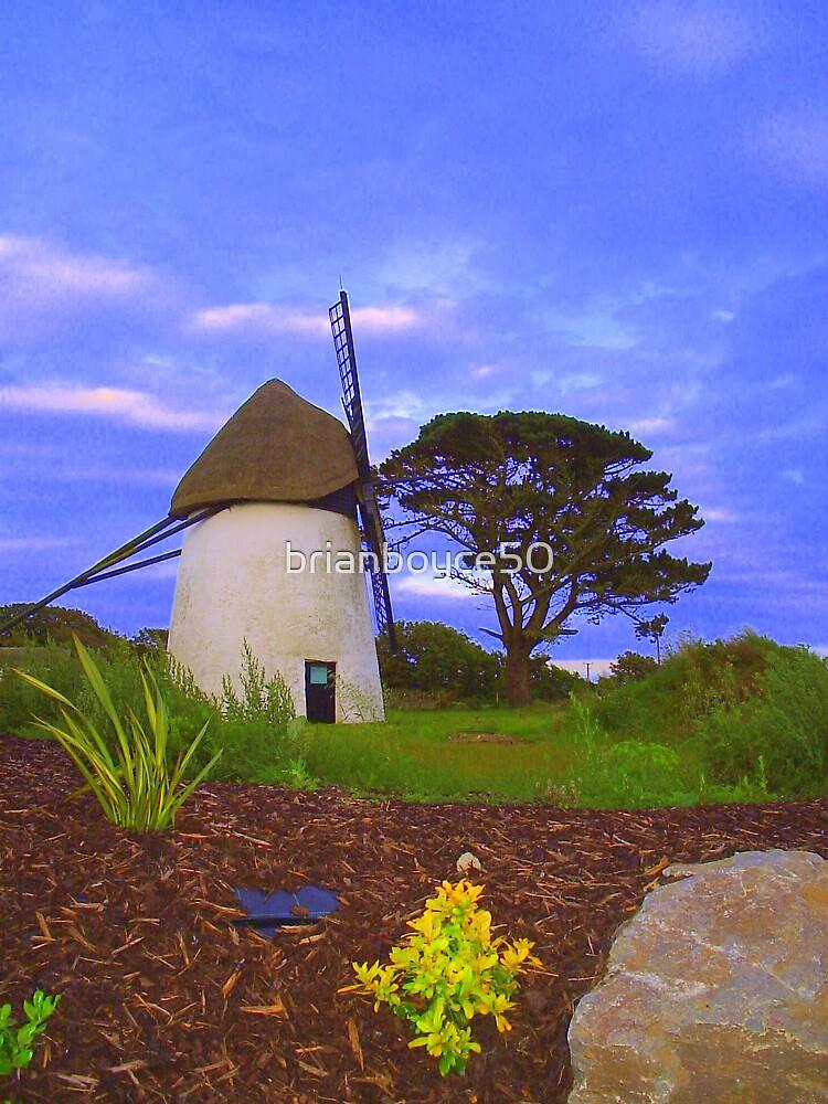 Windmill at Tacumshane by brianboyce50
