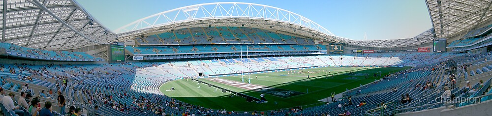 ANZ (formerly Telstra) Stadium 2007 by champion