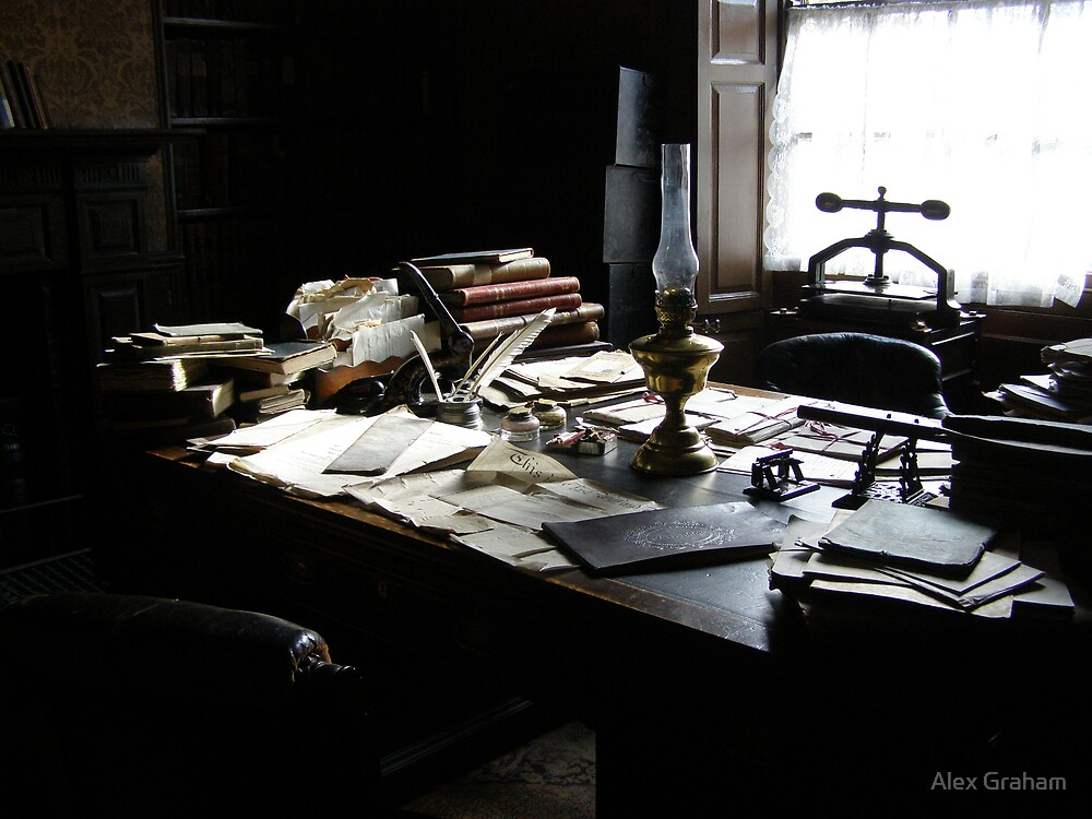 The Solicitor's Desk by Alex Graham