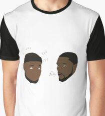 Lance Stephenson Blows In LeBron's Ear Graphic T-Shirt