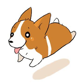 Cute Doggo - Corgi by Xithyll