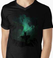 The Greenpath Men's V-Neck T-Shirt