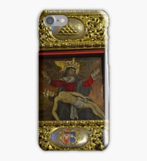 Miraculous image of Our Lady of Sorrows Chelmno Poland iPhone Case/Skin