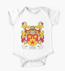 Dyer Coat of Arms One Piece - Short Sleeve