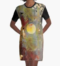 Whisper Forest Moon I Graphic T-Shirt Dress
